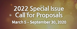 2022 Special Issue Call for Proposals